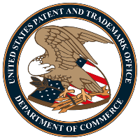Patent and Trademark Logo graphic