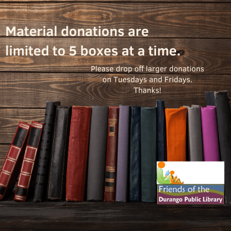 Donating Materials Graphic
